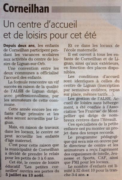 Midi Libre 18/06/2010